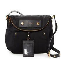 NWT Marc Jacobs Preppy Natasha Quilted Nylon Crossbody bag BLACK $200 AUTHENTIC