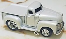 MUSCLE MACHINES 53 CHEVY PICK UP SILVER DIE CAST CAR 1:64