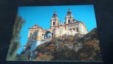 Beautiful OLDER AK Melk a.d. Donau Benedictine monastery Pen ungel. UM 1970 by6