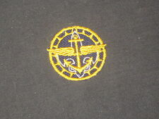 Air Scout Explorer Gold Award on dark blue Patch   c23