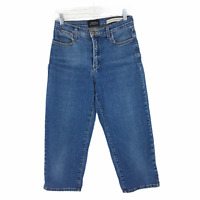 Not Your Daughters Jeans NYDJ Stretch Capri Womens Blue Denim Jeans Size 4