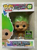 Funko Pop- Good Luck Green Troll! Funko ECCC 2020 Spring Exclusive! In Stock!