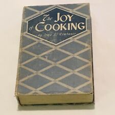 """Vintage 'The Joy of Cooking"""" by Irma S. Kombauer 1943 edition"""