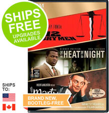 12 Angry Men / In the Heat of the Night / Marty (DVD) Henry Fonda Sidney Poitier