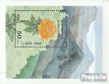 Kyrgyzstan block4 unmounted mint / never hinged 1994 Locals Flora