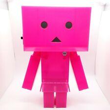 DANBOARD Big Clear Pink Action Figure vol.3 Yotsubato! TAITO Prize about 30cm