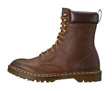 Dr Martens Padten Leather Combat Boots Men's US 7 Women's US 8 Brown Wyoming NEW