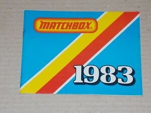 MATCHBOX Katalog 1983, USA Ausgabe - SAMMLUNGSAUFLÖSUNG