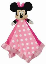 New Disney Minnie Mouse Baby Blanket Snuggle Buddy