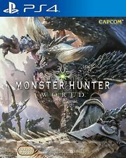 New Sony PS4 Games Monster Hunter World Asia Hong Kong Version English Japanese
