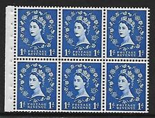 SB30 1D WILDING BLOCCHETTO riquadro PERF TIPO IE TOP Unmounted MNT / MNH