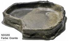 wassernapf / Futternapf in Felsoptik - Farbe: Granite - Grösse:30x28x5cm