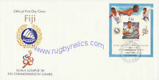 FIJI COMMONWEALTH GAMES 1998 RUGBY FIRST DAY COVER