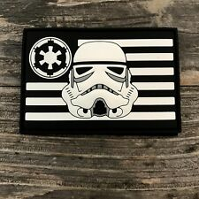 Stormtrooper Flag PVC Morale Patch Parks Supply Star Wars Rogue One First Order