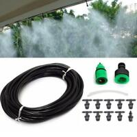 Outdoor Garden Patio Misting Cooling System 10 Plastic Mist Nozzle Kit 10m KV