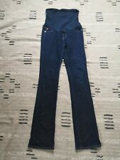 A Pea In the Pod Maternity Denim Blue Jeans Belly Band Size 28R Straight Leg