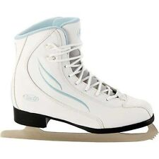 Patins de patinage sur glace et de hockey blancs