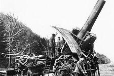 WW1 - Guerre 14/18 - Mortier lourd allemand de 42 cm