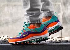 Nike Air Max 98 QS 'Vibrant Air' Cone 924462-800 Size UK 8 EU 42.5 US 9 New