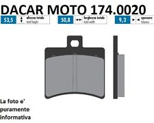 174.0020 PLAQUETTE DE FREIN ORIGINAL POLINI APRILIA RS 125 - SCARABEO 50 DITECH