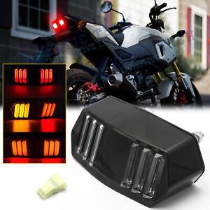 Customized Mustang Style LED Turn Signal Tail Brake Light for Honda Grom 125 MSX