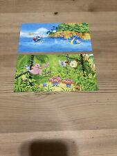 Pokemon Card Japanese Postcard X2 Southern Island Tropical Island Naoyo Kimura