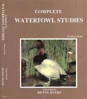 3 Volumes set COMPLETE WATERFOWL STUDIES by  Bruce Burk
