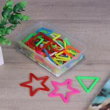 100PCS Smart Sticks Plastic Building Blocks Baby Assembled Educational Toys Gift