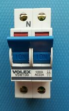 VOLEX 100AMP DP MAIN SWITCH 100A VSW100