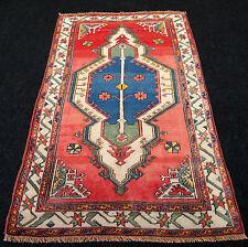 Türkischer Orient Teppich 212 x 130 cm Alter Milas Melas Kaukasus Old Carpet Rug