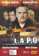L.A.P.D Michael Madsen / Dennis Hopper DVD PAL All Zone NEW