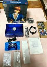 Xbox console Kasumi-chan blue 3 softs game DEAD OR ALIVE controllers power code