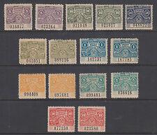 Argentina, Santa Fé, mint 1921 Comision de Fomento Fiscals, 15 Control & Talon
