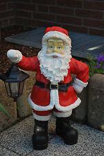 Nikolaus Weihnachtsmann mit Laterne Weihnachten Figur Weihnachtsdeko Advent