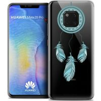 "Coque Gel Pour Huawei Mate 20 PRO (6.4"") Souple Dreamy Attrape Rêves Blue"