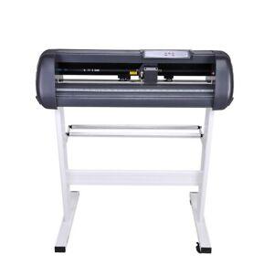 "28"" Vinyl Cutter Plotter Sticker Cutting Business Sign Making Cut Machine"
