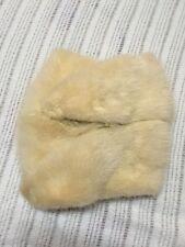 Vintage Rabbit Fur Hand Muff