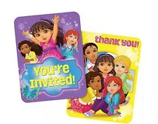 Dora and Friends Invitation/Thank You Set (16 Pack)