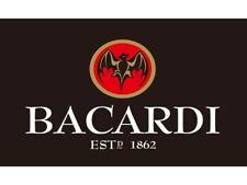 Bacardi Rum 1862 90x150cm Black/White/Red Flag - Alchohol Advertising Sign