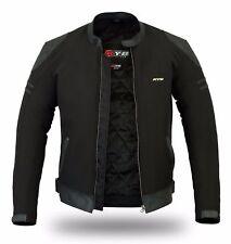 KYB® Windproof Waterproof Softshell™ Leather Thermal Motorbike Motorcycle JACKET