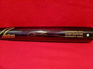 Gary Sanchez Autographed Signed Victus Baseball Bat Yankees Steiner Cert W Case