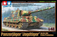 Tamiya 32569 1/48 Model Kit WWII German Tank Destroyer Panzerjager Jagdtiger