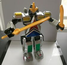 Bandai Power Rangers Zeo Deluxe Super Zeo Megazord toy used complete
