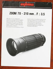ANGENIEUX ZOOM 70-2120F3.5 LENS BROCHURE/133041