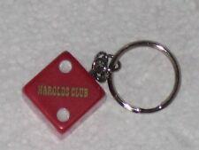 Vintage Harolds Club Casino Dice Die Keychain Reno NV