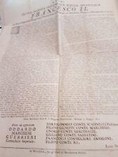 manifesto francesco II duca di modena 1800