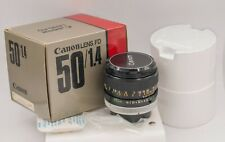Canon FD 50mm F1.4 S.S.C. Prime Lens For AE-1 A-1 F-1 SLR & Mirrorless Cameras