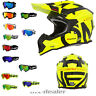 2019 O'Neal 2series Slick neongelb Helm Crosshelm MX Motocross  HP7 Crossbrille