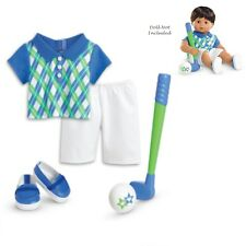 "American Girl BT BITTY TWIN HOLE IN ONE OUTFIT for 15"" Baby Dolls Golf Sport NEW"