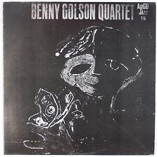 BENNY GOLSON QUARTET: Free USA ARGO Cadet Jazz Ron Carter LP NM- Wax